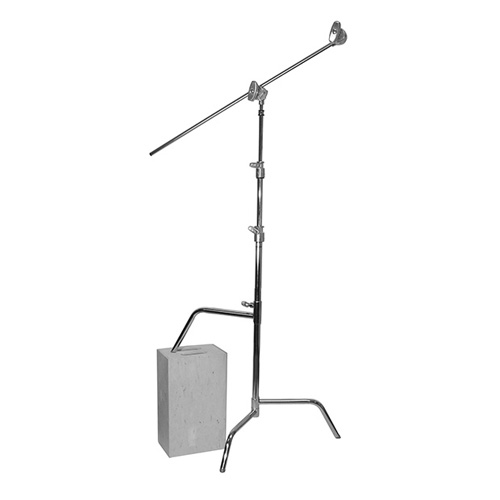"30"" C Stand ""Sliding"" Kit (Arm 76cm) Silver(756030)"