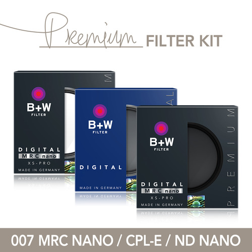 B+W Premium KIT 77mm[007 NANO + CPL-E + ND NANO]