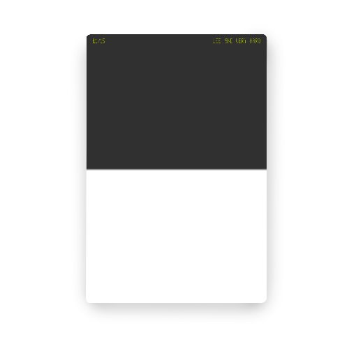 [LEE] 100 x 150mm Very Hard Graduated Neutral Density 0.9 Filter (ND 8)