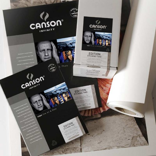 [CANSON®] INFINITY Edition Etching Rag - 310g  A4, A3, A3+
