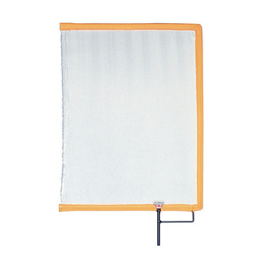 "Scrim Art Silk White 12""x18"" (30.5x46cm)(149043)"