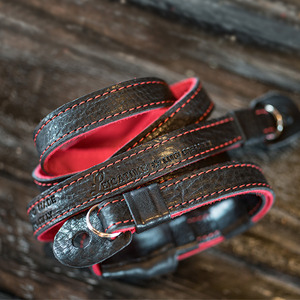[Luigi's] Neck Strap (no Pad) Black&Red