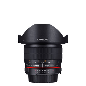 SAMYANG 8mm F3.5 UMC Fish-eye CS (II)
