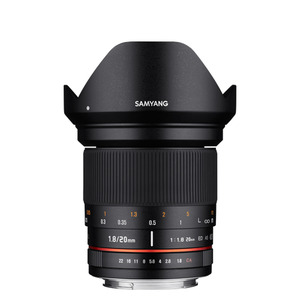 SAMYANG 20mm F1.8 ED AS UMC