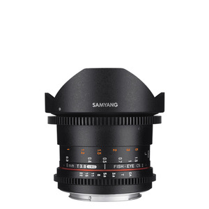 SAMYANG Cine 8mm T3.8 VDSLR UMC Fish-eye (II)