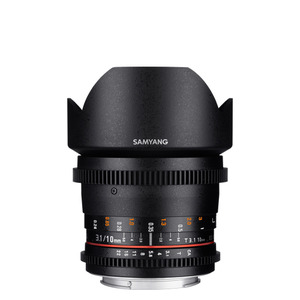 SAMYANG Cine 10mm T3.1 VDSLR ED AS NCS CS (II)
