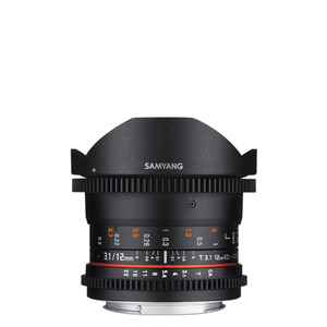 SAMYANG Cine 12mm T3.1 VDSLR ED AS NCS Fish-eye