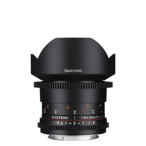 SAMYANG Cine 14mm T3.1 VDSLR ED AS IF UMC (II)