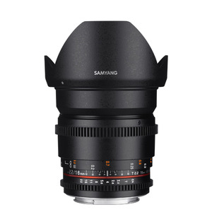 SAMYANG Cine 16mm T2.2 VDSLR ED AS UMC CS (II)