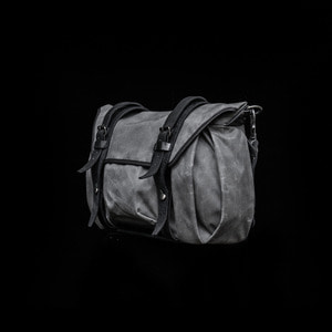 [WOTANCRAFT] TROOPER INTERIOR MODULE SHOULDER BAG - Vintage grey - M