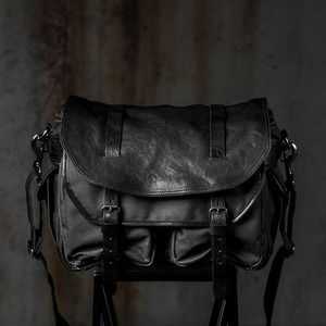 [WOTANCRAFT] AVENGER SHOULDER BAG - Charcoal black