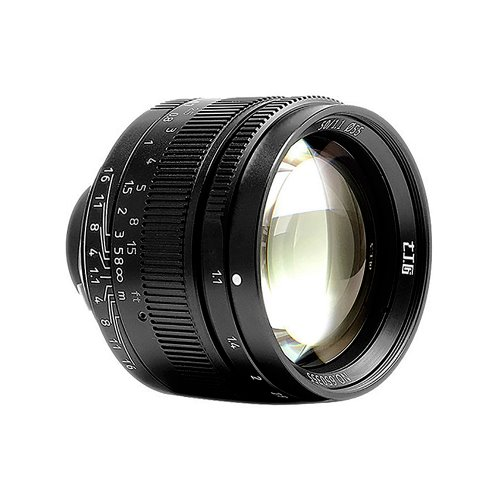 7Artisans M50mm f/1.1 Full Frame Lens Black   [진열/리퍼 50%세일]
