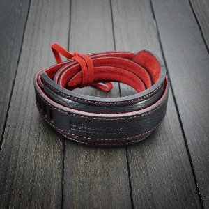 [Luigi's] Neck Strap Genius (with Pad) Black&Red
