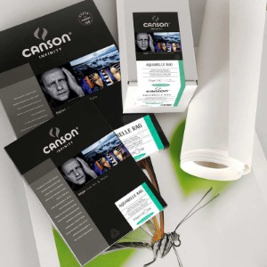 [CANSON®] INFINITY Aquarelle Rag - 310g Roll