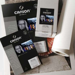 [CANSON®] INFINITY Edition Etching Rag - 310g Roll