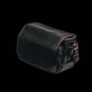 [WOTANCRAFT] Ryker Full Leather Camera Bag Black/Coffee Brown - S