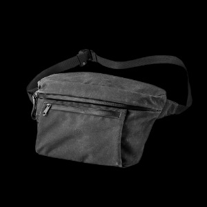 [WOTANCRAFT] WAIST PACK/SLING POUCH 6.5L - Charcoal Black